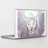 baphomet Laptop & iPad Skins featuring Baphomet V3 by Savannah Horrocks
