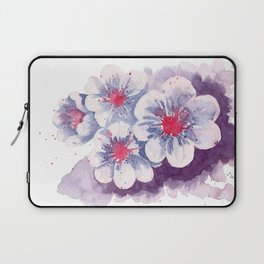 Watercolor cherry blossoms Laptop Sleeve