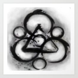 Coheed and Cambria Watercolor Painting  Art Print