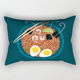 Ramen Noodles for Lunch Rectangular Pillow
