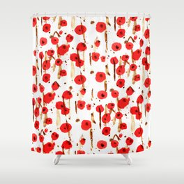 Début du printemps Shower Curtain