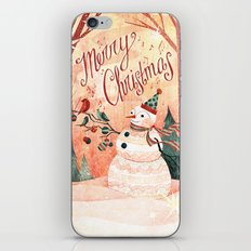 Christmas Card 2015 iPhone & iPod Skin