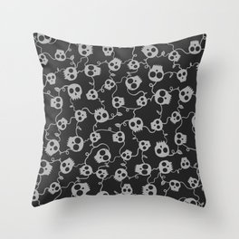 ROUGH PATCH Throw Pillow