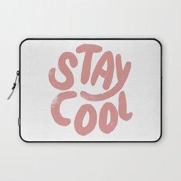 Stay Cool Vintage Pink Laptop Sleeve