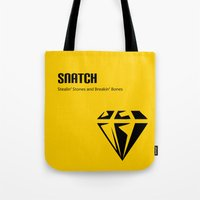 snatch Tote Bags featuring Snatch by Arian Noveir
