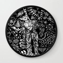Rock Soul Inquisitive  Wall Clock