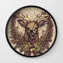 Cernunnos Stag Wall Clock