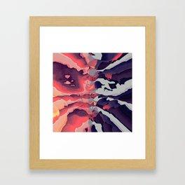 Battle of the Colors Framed Art Print