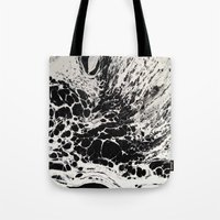 ghost Tote Bags featuring Ghost by blair__berger