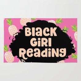 Black Girl Reading Rug