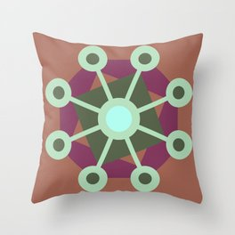 Mirrors Throw Pillow