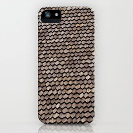 Roof pattern iPhone Case