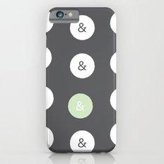 spot color ampersand Slim Case iPhone 6s
