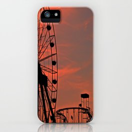Sundown in Fun Town iPhone Case