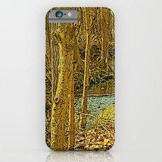 Gold Woodlands iPhone 6s Slim Case