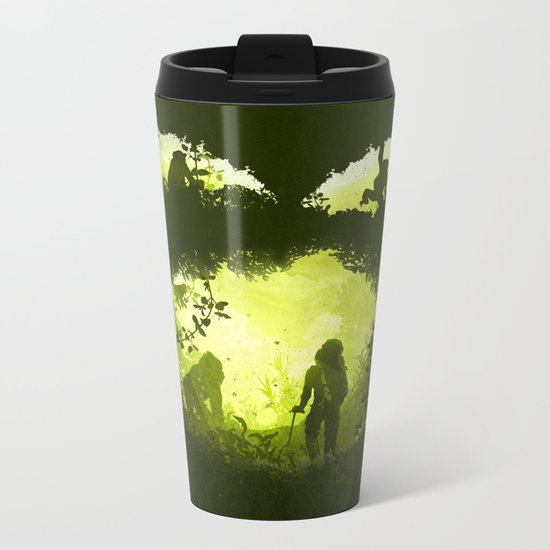 In the Heart of the Jungle Metal Travel Mug