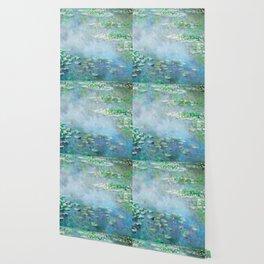 water liliesMonet Water Lilies / Nymphéas 1906 Wallpaper