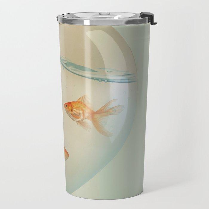 balloon fish 02 Travel Mug