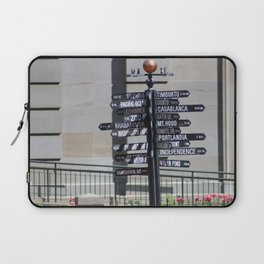 What direction is ... ? Laptop Sleeve