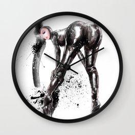 Fetish painting #4 Wall Clock