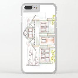 Green Craftsman Clear iPhone Case