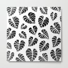 Botanical Leaves Metal Print