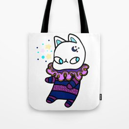 Kawaii Galaxy Cat - Cute Kitty Design Tote Bag