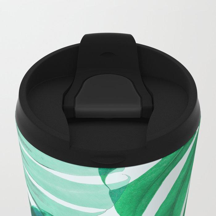 Monstera 1 Metal Travel Mug