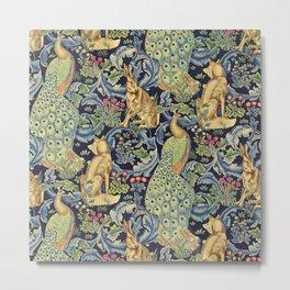"""William Morris """"Forest"""" 1. Metal Print"""