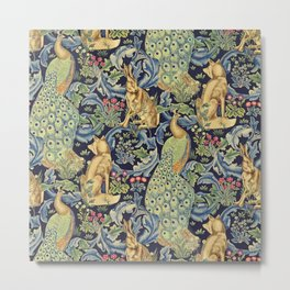 "William Morris ""Forest"" 1. Metal Print"