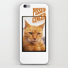 Pissed Ginger iPhone & iPod Skin