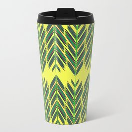Green feathers Travel Mug