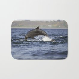 leaping dolping Bath Mat