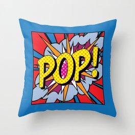 POP Art 5 Throw Pillow