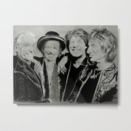 The Rolling Stones Metal Print
