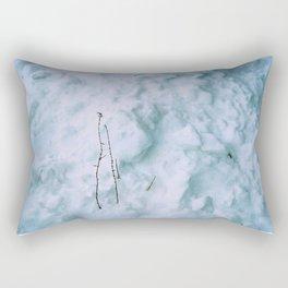 Snow #3 Rectangular Pillow