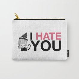 I Hate You / Witch Carry-All Pouch
