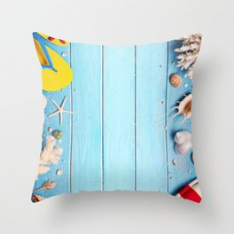 summer life style Throw Pillow