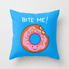 Tasty Comeback Throw Pillow
