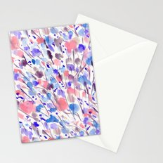 Wild Nature (Apricot, Blue) Stationery Cards