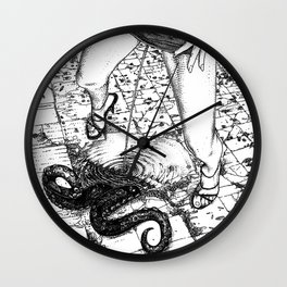 asc 616 - Les libations (Call upon His name and He will answer) Wall Clock