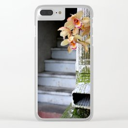 Delight From Up Above Clear iPhone Case