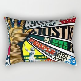 African American Center for Civil and Human Rights Mural Rectangular Pillow