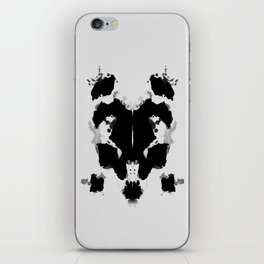 Rorscharch iPhone Skin