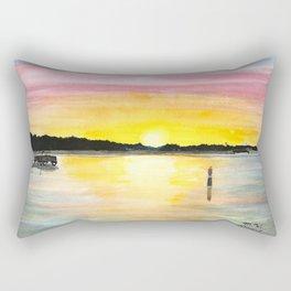 Lakeshore View Rectangular Pillow