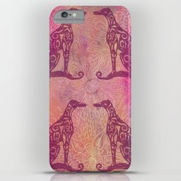 A Greyhound for All Seasons - Autumn iPhone Case