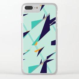 Geometric Zephyr Clear iPhone Case