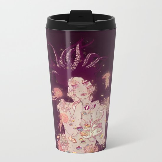 Abyss Lady Metal Travel Mug