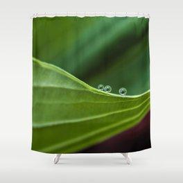 Three little drops Shower Curtain
