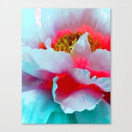 Vibrant Multicolor Floral teture Canvas Print
